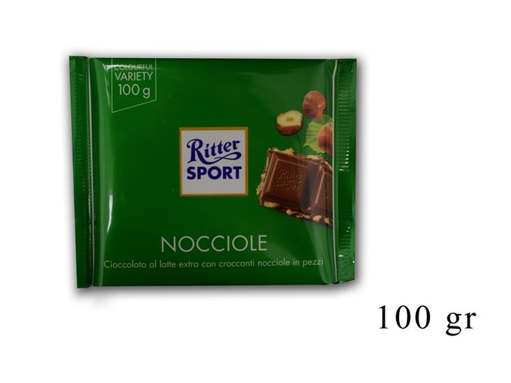 RITTER SPORT NOCCIOLE 100GR@
