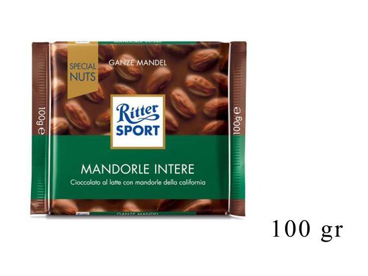 RITTER SPORT MANDORLE INTERE 100GR@