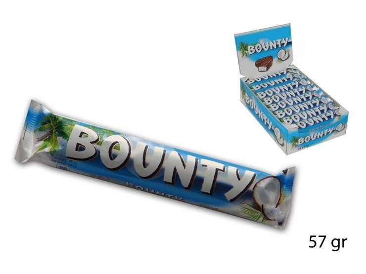 BOUNTY SINGOLO 57GR 13295