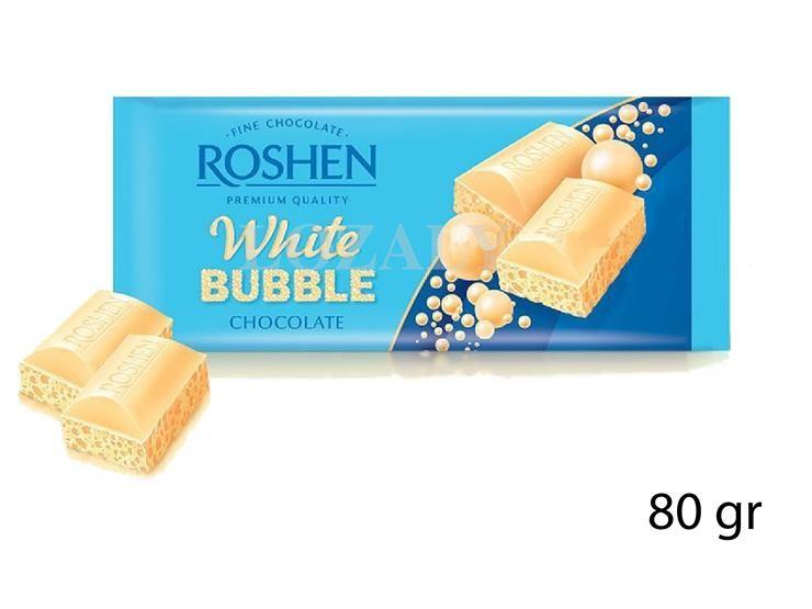TAVOLETTA AERATED WHITE CHOCO 80GR 928671@