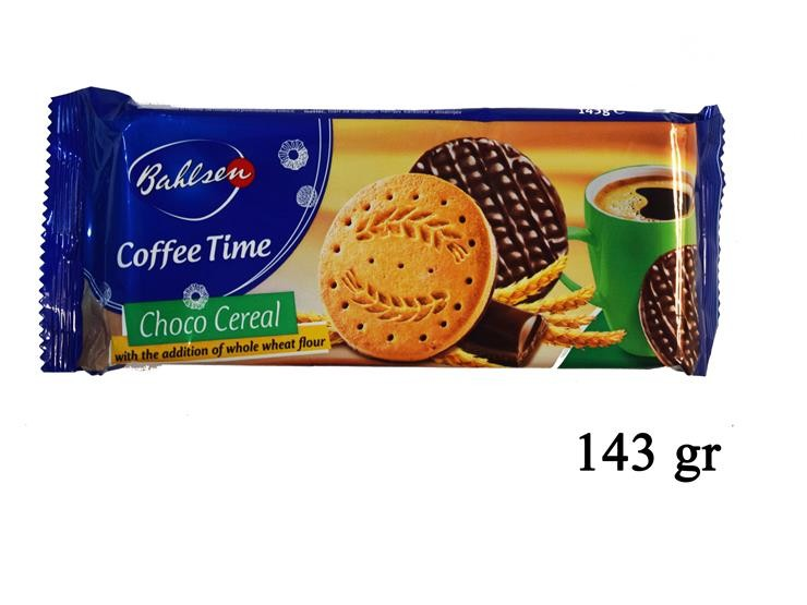 CHOCO CEREAL COFEE TIME 143GR 52120