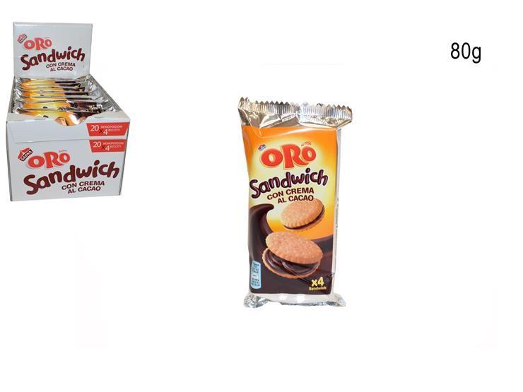ORO SANDWICH CACAO 80G656030