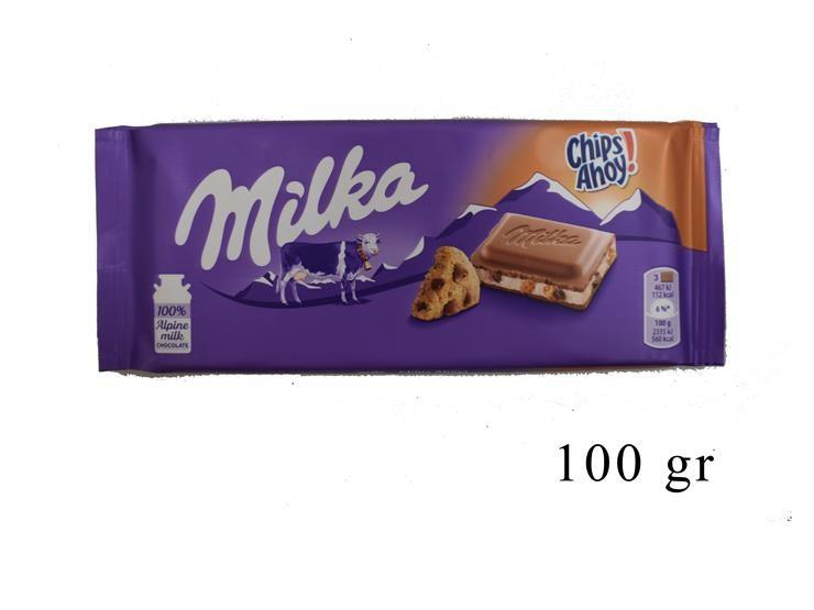 MILKA CHIPS AHOY 100GR