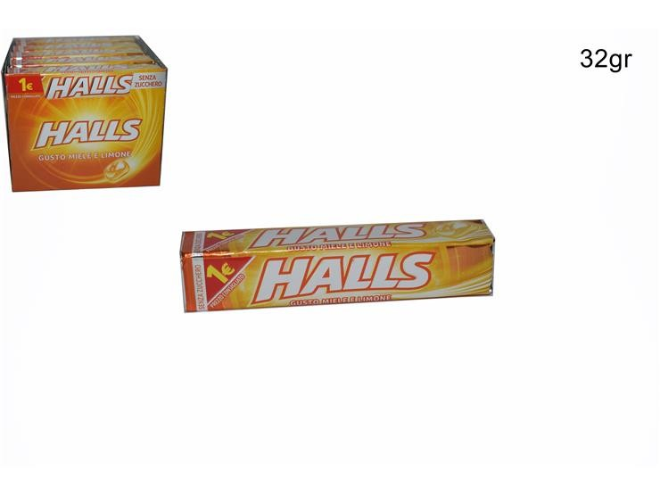 HALLS MIELE&LIMONE 32GR 4037607