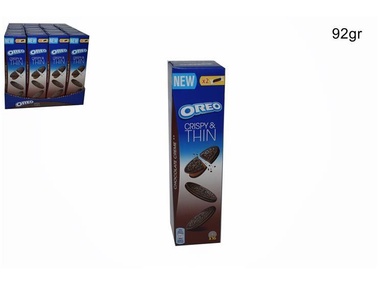 OREO CRISPY&THIN CHOCO 92GR 4056893