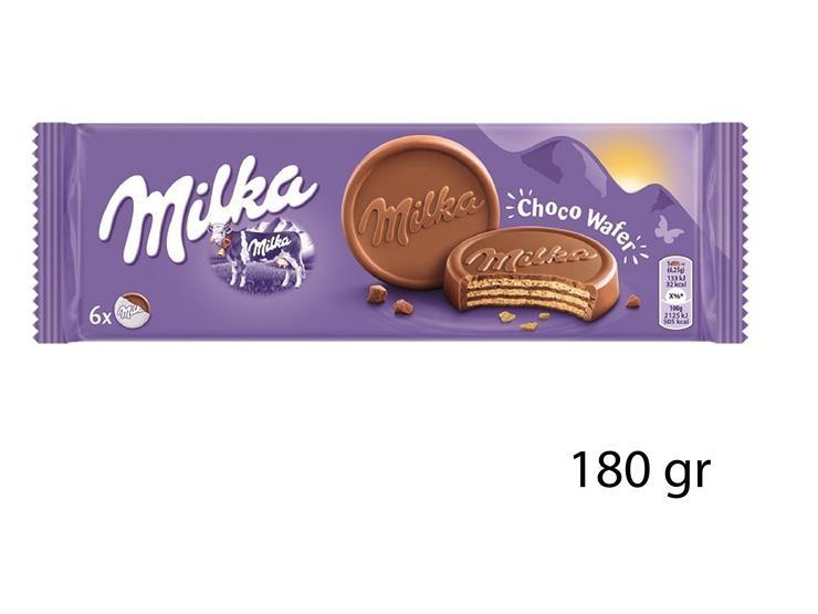 MILKA CHOCOWAFER 180GR 714789