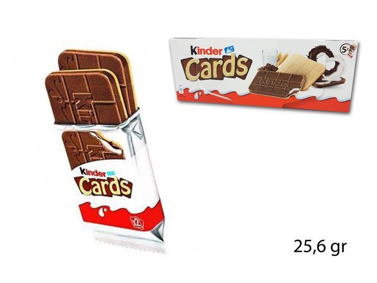KINDER CARDS 25.6GR 12356