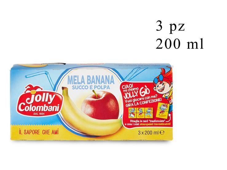 NETTARE MELA-BANANA JOLLY 3PZ 200ML 018161