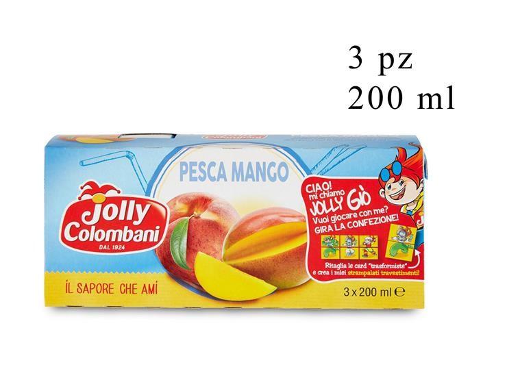 NETTARE PESCA-MANGO JOLLY 3PZ 200ML 035529