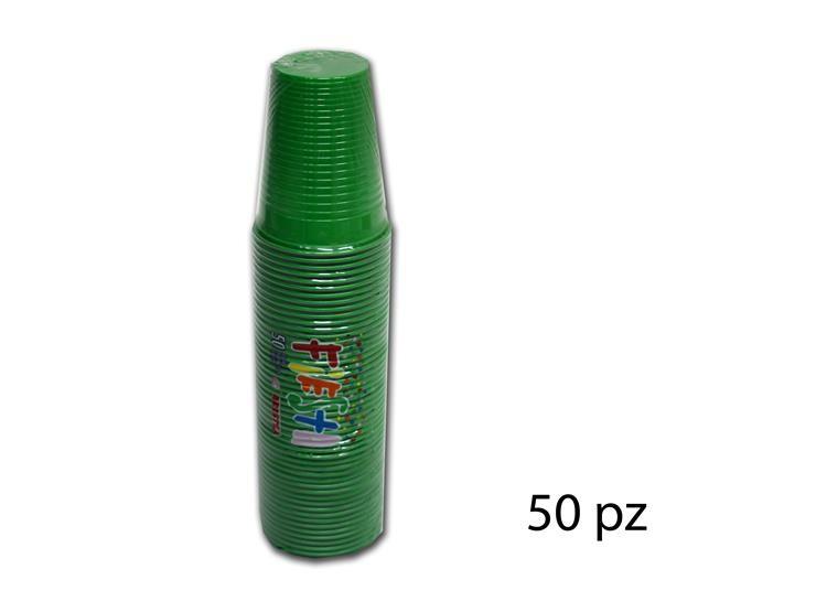 BICCHIERI FIESTA VERDE 200CC 50PZ 218352