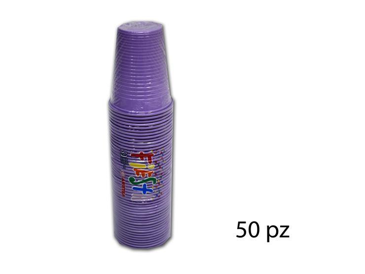 BICCHIERI FIESTA GLICINE 200CC 50PZ 218358