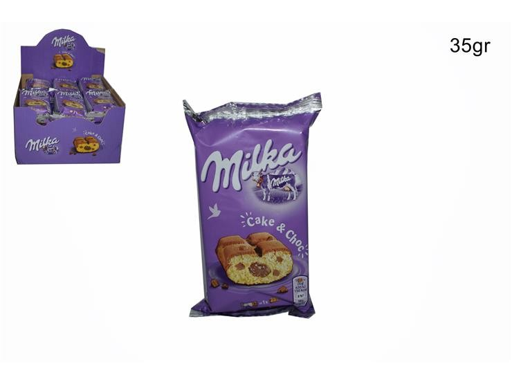 MILKA CAKE&CHOC 35GR 913242