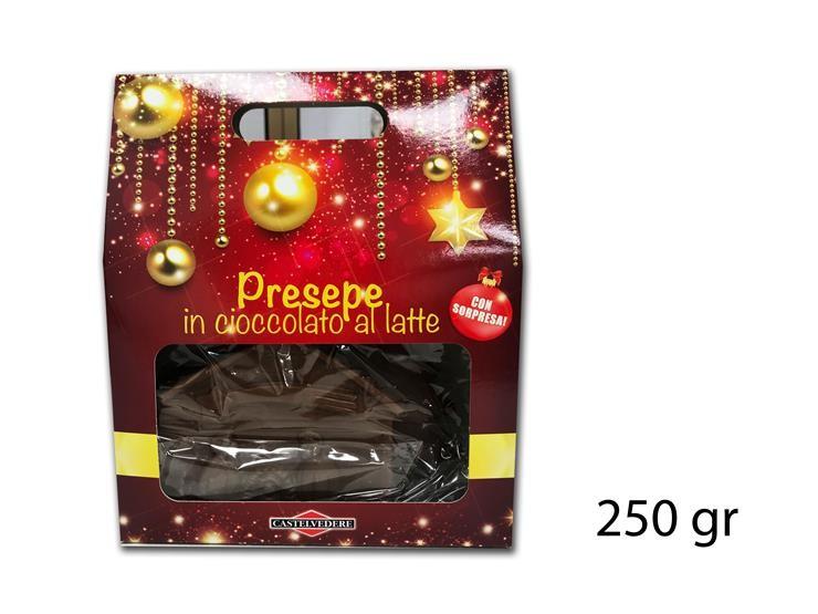 PRESEPE CIOCC. LATTE 250GR X6223@