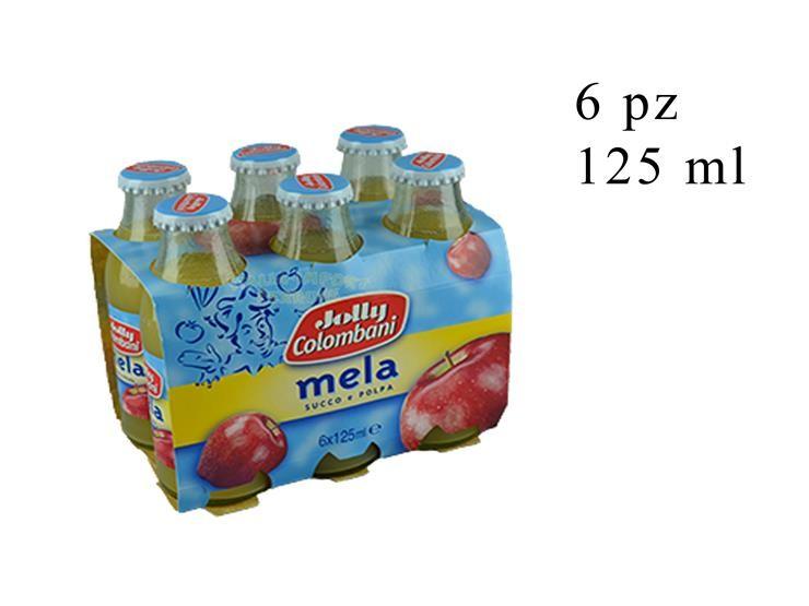 NETTARE MELA JOLLY 6PZ 125ML 023249@