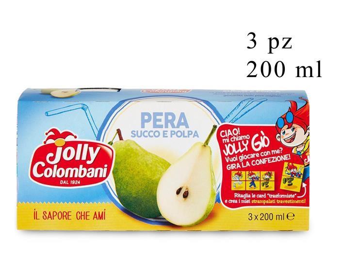 NETTARE PERA JOLLY 3PZ 200ML 018167
