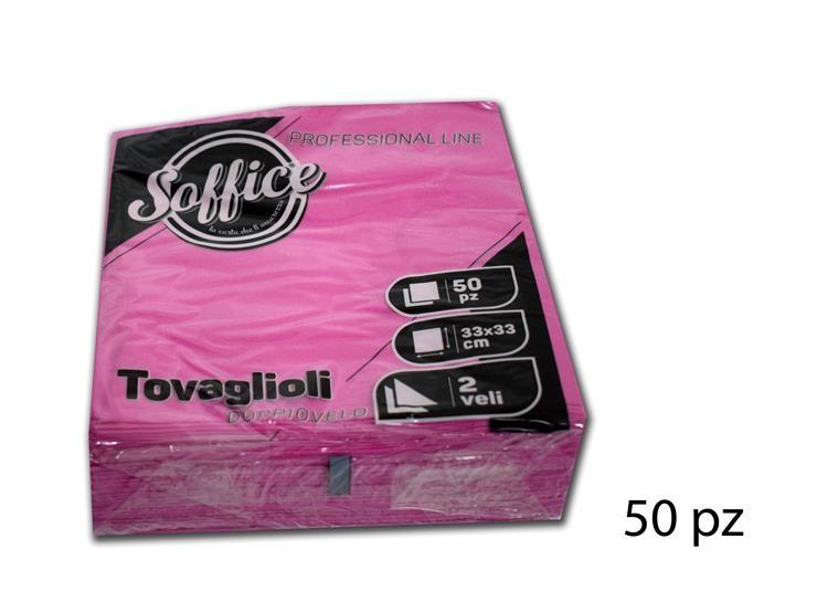 TOVAGLIOLI SOFFICE 33*33 ORT.50PZ