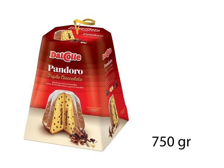 PANDORO TRIPLO CIOCCOLATO 750GR 51120291