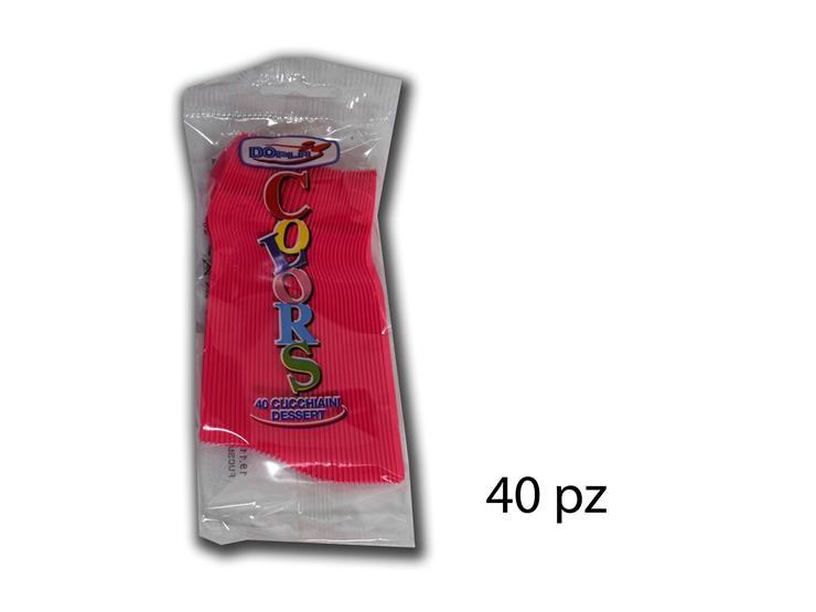 FUXIA CUCCHIAINI DESSERT 40PZ 03619