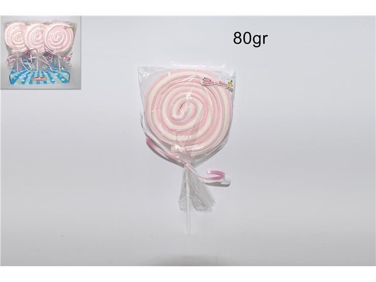 SPIEDINO ROLLER POP ROSA 80GR LEG0009