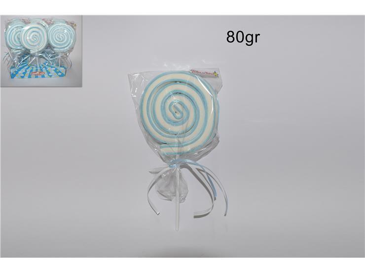 SPIEDINO ROLLER POP AZZURRO 80GR LEG0016