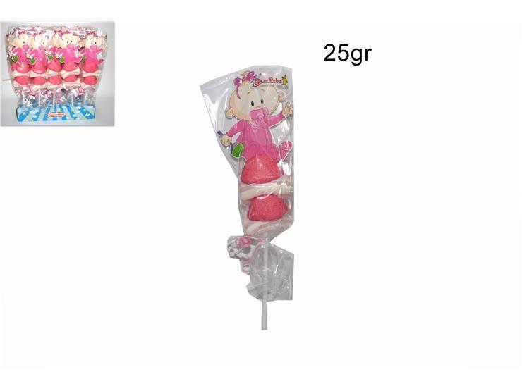 SPIEDINO ROSA BABY 25GR COT0022