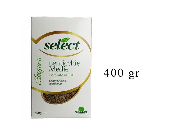 LENTICCHIE MEDIE ASTUCCIO 400GR 00ME0A0418