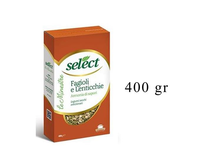 FAGIOLI E LENTICCHIE ASTUCCIO 400GR 09LF0A0418