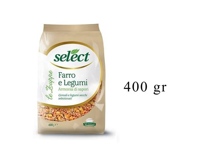 FARRO E LEGUMI CELL. 400GR 09FR0C0414