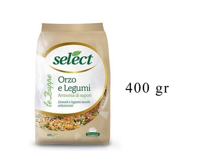 ORZO E LEGUMI CELL. 400GR 09OR0C0414