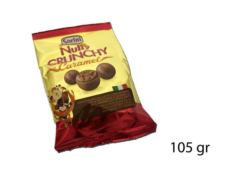 BUSTA 105GR NUTTY CRUNCHY CARAMEL 301780@