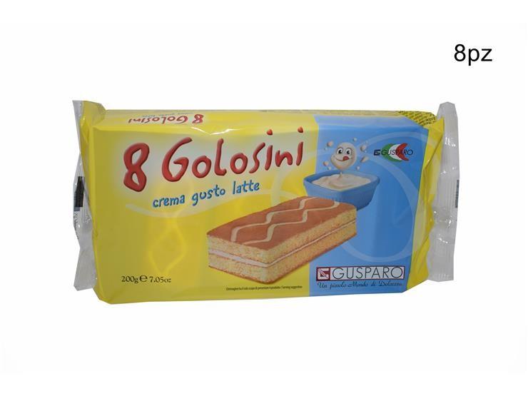 GOLOSINI LATTE 8PZ 200GR C33LAGU