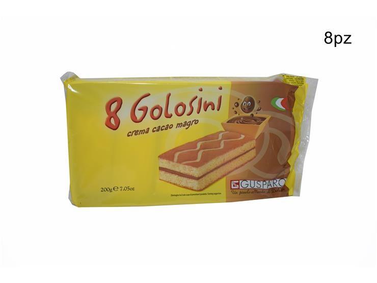 GOLOSINI CACAO 8PZ 200GR C33CAGU