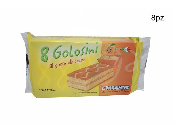 GOLOSINI ALBICOCCA 8PZ 200GR C33ALGU