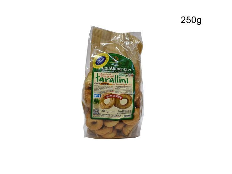TARALLI FINOCCHIO 250G TAFIN250