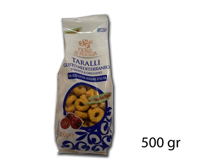 TARALLI MEDITERRANEO 500GR@