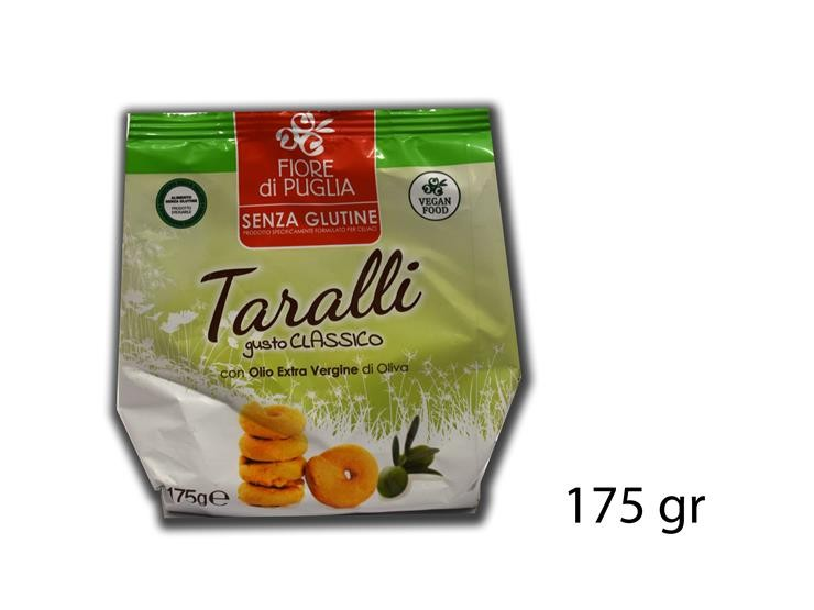 TARALLI SENZA GLUTINE 175GR