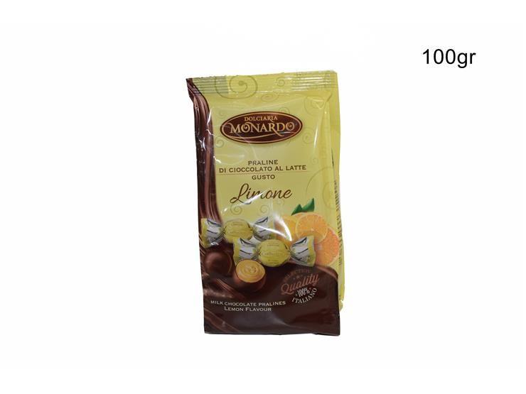 BUSTA PRALINE LIMONE 100 GPRLIBU010