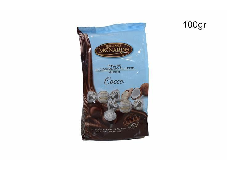 BUSTA PRALINE COCCO 100 GPRCCBU010