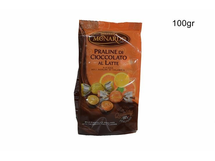 BUSTA PRALINE AGRUMI CALABRESI 100 GPRACBU010