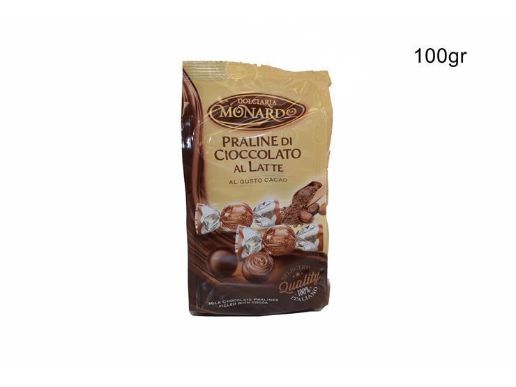 BUSTA PRALINE CACAO 100 GPRCABU010