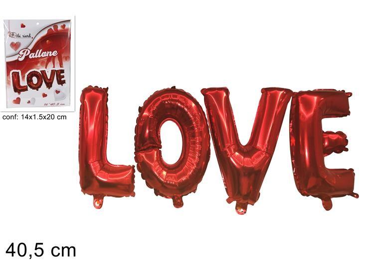 PALLA ELIO SCRITTA LOVE 16 CM 40.5