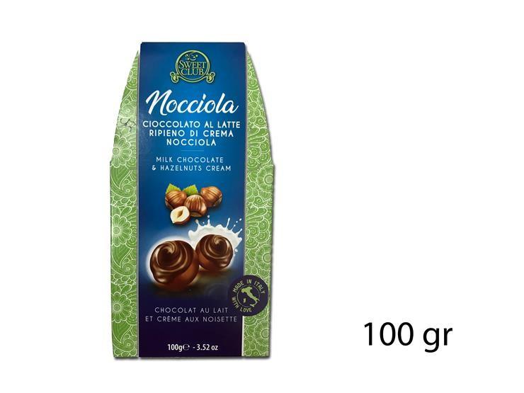 PRALINA FOND. 72% NOCCIOLA 100GR SC294
