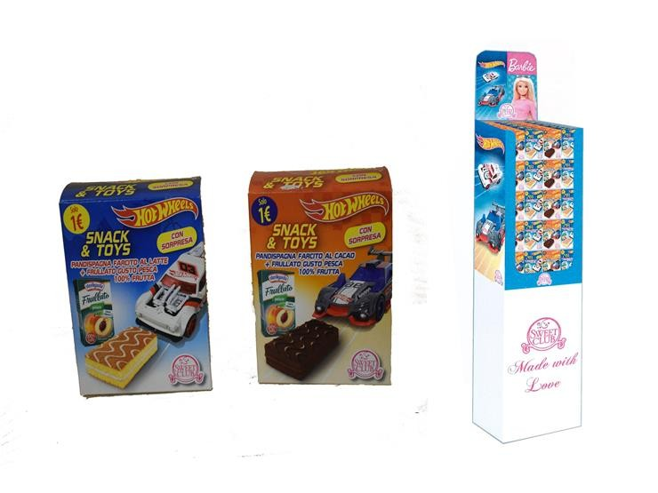 HOT WHEELS SNACK&TOYS CACAO/LATTE MT71
