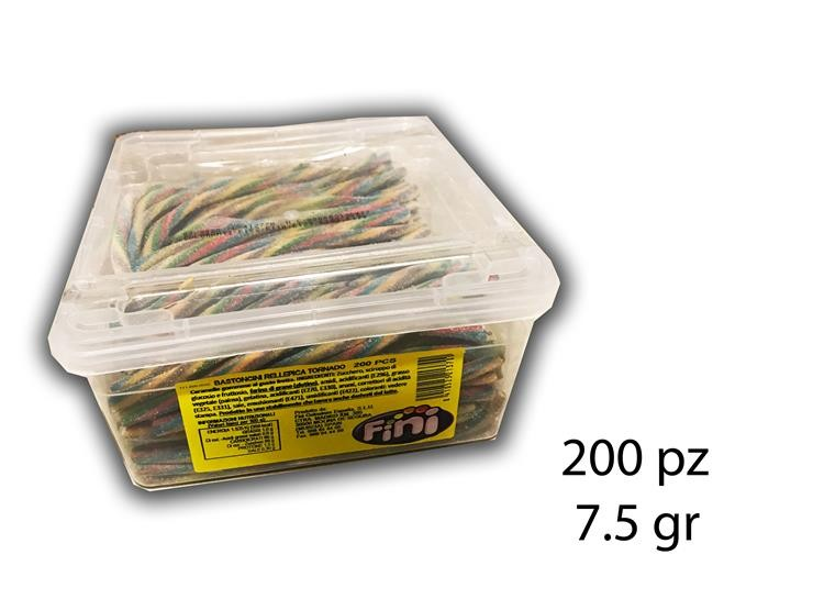 BASTONCINI TORNADO FRIZZ 200PZ 7.5GR