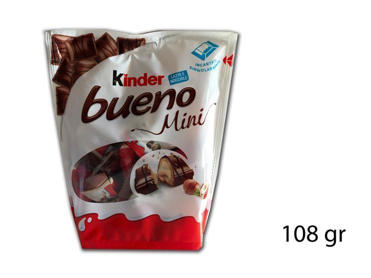 FERRERO KINDER BUENO MINI 108GR 053359