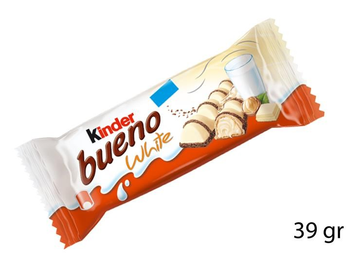FERRERO KINDER BUENO WHITE 39GR 033470
