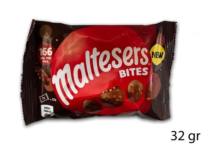 MALTESERS BITES POUCH 32GR 16679