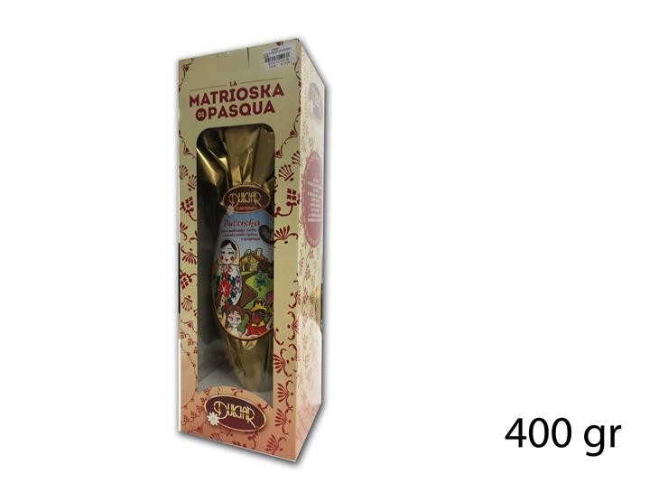 UOVO DI PASQUA LA MATRIOSKA 400GR DCSK400E