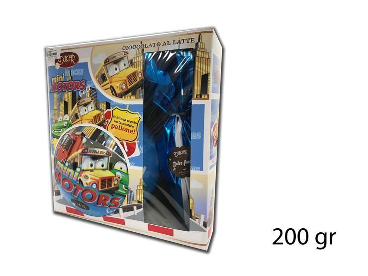 UOVO DI PASQUA BALL MINI MOTOR 200GR DBBM200LE
