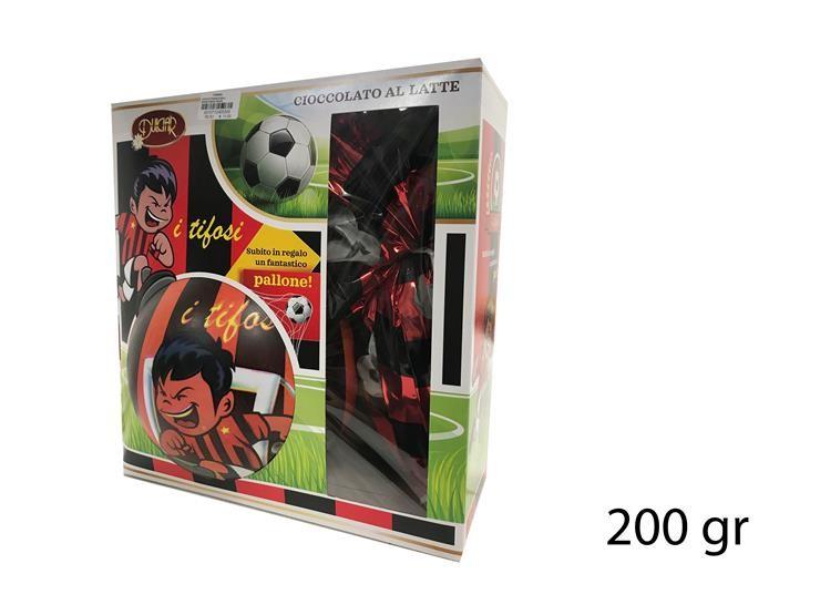 UOVO DI PASQUA BALL ROSSO/NERO 200GR DBTM200LE